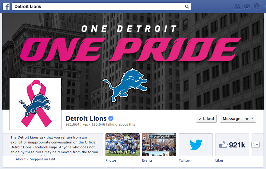 facebook cover photo for breast cancer awareness
